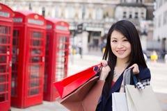 Tourist shopping Royalty Free Stock Image