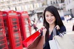 Tourist shopping Royalty Free Stock Photos