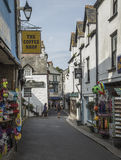Tourist shops and public houses at Looe in Cornwall Stock Photos