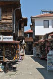 Tourist shops Stock Photo
