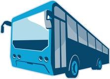 Tourist Shuttle Bus Coach Retro Stock Image