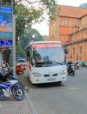 Tourist sightseeing bus Ho Chi Minh City Saigon Vietnam Royalty Free Stock Images