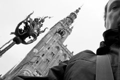 Tourist sightseeing city Gdansk. Stock Images