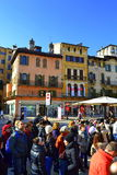 Tourist sightseeing in Verona Italy Stock Images