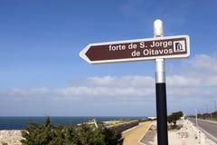 Tourist Sign Royalty Free Stock Photo