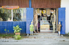 Tourist souvenir shop in dili east timor Royalty Free Stock Photo