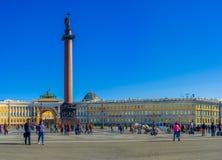 The tourist square Stock Photos