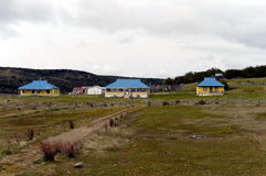 Tourist station in Tierra del Fuego. Stock Images