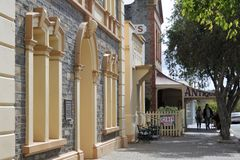 Tourist in Strathalbyn South Australia. Tourist in Strathalbyn.Strathalbyn was settled in 1839 by Scottish immigrants on land that was a meeting place of royalty free stock photo