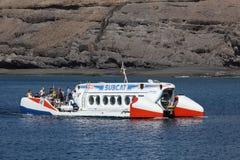 Tourist submarine in Fuerteventura Stock Image