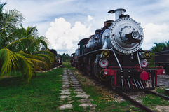 Tourist sugar train, Santa Clara, Royalty Free Stock Image