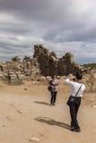 Tourist taking photo Stock Photo