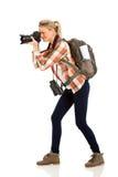 Tourist taking photos Stock Photos