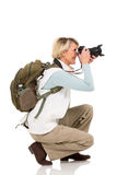 Tourist taking pictures Stock Image