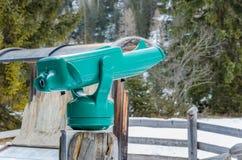 Tourist Telescope Stock Image
