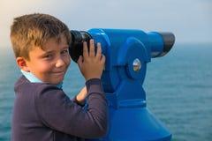 Tourist telescope Stock Photos