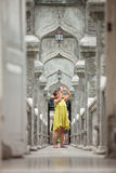 Tourist in temple Royalty Free Stock Image