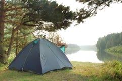 Tourist tent Stock Photo