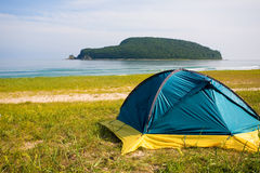 Tourist tent Stock Photos