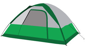 Tourist tent Royalty Free Stock Images
