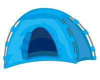 Tourist tent Stock Photography