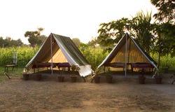 Tourist tent Royalty Free Stock Photos