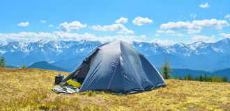 Tourist tent Stock Image