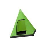 Tourist tent isolated on white Stock Photos