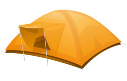 Tourist tent vector illustration Stock Images