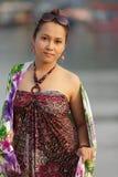 Tourist thai woman portrait Royalty Free Stock Photos