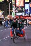 Tourist on Times Square Stock Photo