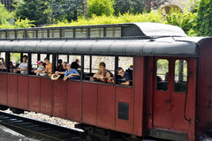 Tourist train from Anduze Stock Images