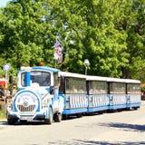 Tourist train stock image