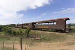 Tourist train Valle de Los Ingenios Stock Image