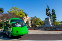 Tourist Tram in Balboa Park Stock Images