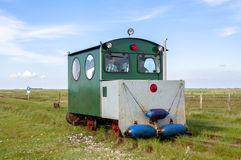 Tourist Transport to Hallig Langeness Royalty Free Stock Photo