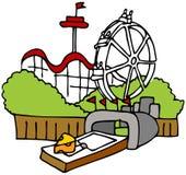 Tourist Trap. An image of a moustrap amusement park tourist trap Royalty Free Stock Photo