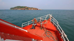 Tourist Travel By Boat To Pattaya Port Chonburi Thailand stock video footage