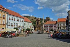 Free Tourist Trip To A Medieval Town In The Czech Republic- Stock Image - 161304341