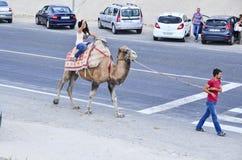 Tourist in Turkey Stock Photo