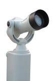 Tourist-Typ Teleskop Stockbild