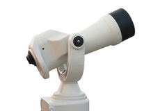 Tourist-type telescope Stock Images