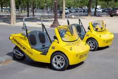 Tourist vehicle paris Stock Photography