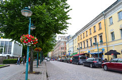 Tourist view of Helsinki, Finland Stock Photography