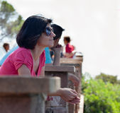 Tourist view Stock Photo