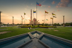 Tourist view towards Putra Mosque Stock Photography