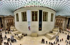 18 november 2017 view of tourist visiting british history museum london. Tourist visiting british history museum in london stock photo