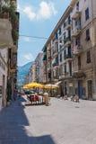 Tourist walking at La Spezia, Italy Royalty Free Stock Image