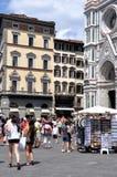 Touriste à Florence Images libres de droits