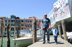 Touriste à Venise, Italie photo libre de droits